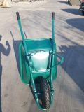 Barato sul-americano Wheelbarrow sólida de aço Francês