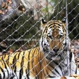 Corda de aço inoxidável Zoo Empurrador Mesh/ Ss Flex Tecidos de malha