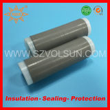 Cable conector de aislamiento de caucho de silicona en frío tubo retráctil