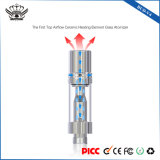 Vaporizzatore di vetro di ceramica della cartuccia di memoria 0.5ml Vape del riscaldamento del flusso d'aria superiore Bud-V4