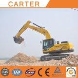 Máquina escavadora resistente Multifunctional do Backhoe da esteira rolante de Carter CT220-8c (22T)