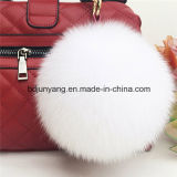 Factory Directly Supply Fox Fur Ball Keyrings