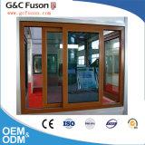 Bonne qualité de vitre coulissante de la fabrication de Guangzhou en aluminium