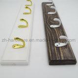 나무로 되는 고급 아름다운 옷 훅 & 금속 널 훅 (ZH-7023)