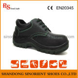 Zapatos de seguridad del cuero partido de la vaca de la buena calidad Rh065