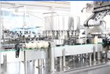 Machine automatique de remplissage et de scellage en feuille d'aluminium à bouteille de yogourt automatique à monobloc