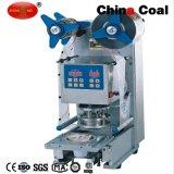 Machine de empaquetage de cachetage de cuvette de Dy95/Dy95A de mastic de colmatage de plastique manuel de couvercle