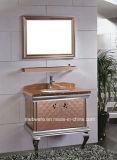 Meubles lumineux de salle de bains d'acier inoxydable de couleurs