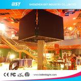 전시를 광고하는 P6mm 높은 정의 큰 LED 텔레비젼