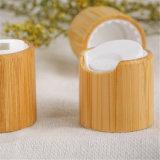 Bouteille en plastique avec le premier chapeau en bambou