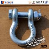 Wir Typ Absinken schmiedeten Schrauben-Anker-Fessel G2130