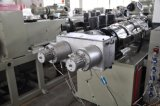 Linha de produção de dupla tubulação de PVC / extrusão de tubulação dupla / máquina de tubo duplo de PVC / extrusora de tubos de PVC