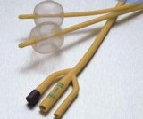 DreiwegeFoley Ballon-Latex-Katheter für Urologie-Entwässerung