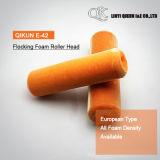 Rouleau de flocage de type européen de mousse de la couleur E-42 orange