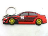 3D PVC morbido Custom Car marchio Key Chain