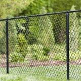 Frontière de sécurité enduite de cour de jeu de basket-ball de frontière de sécurité de cour de /Tennis de frontière de sécurité de maillon de chaîne de PVC
