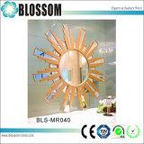 Espelho decorativo da parede do frame do MDF do espelho da sala de visitas da suspensão de parede