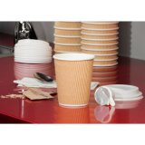 Ripple Wall Paper Cup para bebidas quentes