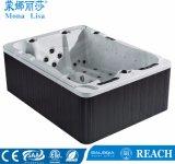 Monalisa de luxe de 3 personne Mini Sweet Home un bain à remous chauds pour l'extérieur (M-3371)