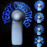 Blue Programmable Message LED Fan avec logo imprimé (3509)