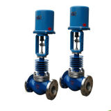 China-Produkt-Stellzylinder-regelnde Hülsen-pneumatische Dampf-Regelventile