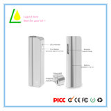 Justierbare Spannung Cbd Öl-Kassette510 Vaporizer-Feder-Batterie