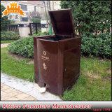 De openlucht Bakken van het Recycling van het Afval van het Staal van de Doos van de Opslag van de Bak van het Huisvuil van het Metaal