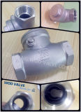 Válvula de verificação do balanço de H14W Ss