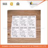 Etiquetas autoadesivas impressas personalizadas do vinil