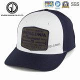 標準的で美しいスカイブルーは3D刺繍が付いている野球帽を遊ばす