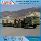 Semi Aanhangwagen van het militaire/Bed van het Leger de Lage voor Tank Tranport