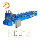 Perfil de aço Terça máquina de formação de rolos
