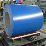 la couleur galvanisée enduite d'une première couche de peinture plongée chaude de 0.3mm PPGI a enduit la bobine en acier