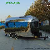 ステンレス鋼の販売のためのTowable食糧トレーラー