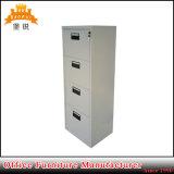 Cabina de fichero del almacenaje de la oficina del cajón del acero cuatro de los muebles del metal