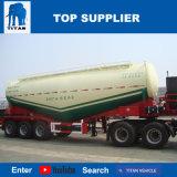 Titaan 3 Aanhangwagen van de Tanker van de As en 55cbm de Bulk van het Cement en de Aanhangwagen van de V-vorm