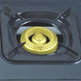 Fornello di gas laminato a freddo colori neri del bruciatore dello strato 3 Jp-Gc305t