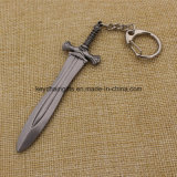 Final Fantasy Miniature Weapons Metal Sword Keychain Anel Pingentes