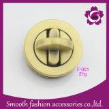 Saco de Redondas de moda gire a trava Mala de ouro de Hardware de Acessórios