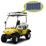 Carrello di golf elettrico di caccia con il comitato solare di Basket& (DEL2022D, 2seat)