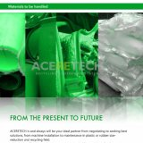 プラスチックフィルムの大きい出力のための重い粉砕機か袋または固まり