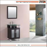 Cabinet de bain en bois massif en verre trempé 2016 T9142D