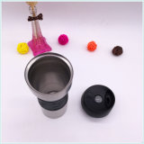 Tazza di caffè di ceramica di marchio della decalcomania di corsa della tazza di caffè del manicotto di ceramica su ordinazione della tazza (SH-SC01)