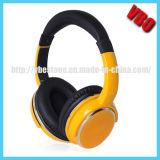 Auriculares estereofónicos sem fio de rádio novos do auscultadores do projeto FM Bluetooth