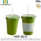 Ungiftige umweltfreundliche Bambusfaser-Kaffeetasse (HDP-2012)