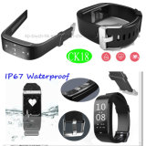 IP67 impermeabilizzano il braccialetto di Bluetooth con l'inseguimento di tempo reale di GPRS (CK18)