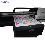 와니스를 가진 UV 평상형 트레일러 인쇄 기계 가격 새로운 3개 피스 Tx800 헤드