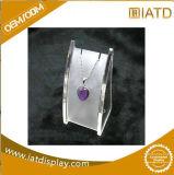 Boîte de présentation acrylique transparente pour le chapeau/nourriture/chaussure/produit de beauté/basket-ball pour le système