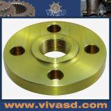 Métaux précieux Usinage CNC Rondelle en aluminium tournante
