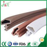 Tiras de madera flexibles del sello de puerta del PVC
